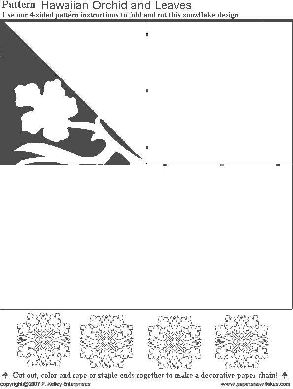 Трафареты снежинки  из бумаги схемы